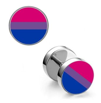 Surgical Steel 10mm Bisexual Imitation Stretched Ear Plugs