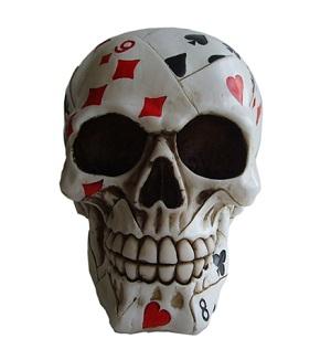Dead Man's Hand Skull