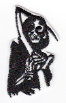Reaper Embroidered Iron-on Patch