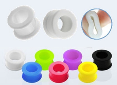 Flexible Silicon Ear Tunnels