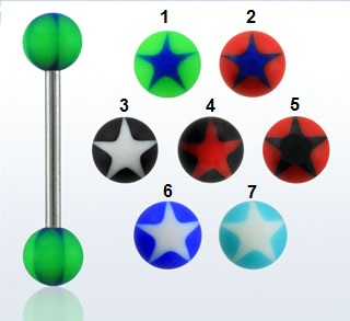 Star Design Tongue Bar