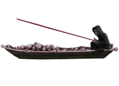 Fishing Reaper Incense Holder & Ash Catcher