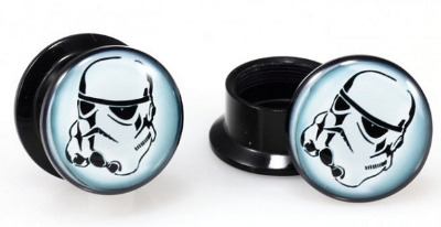 Acrylic Stormtrooper Screwfit Solid Back
