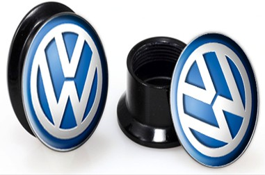 Acrylic VW Screwfit Solid Back