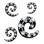 Skull Spiral Taper/Stretcher
