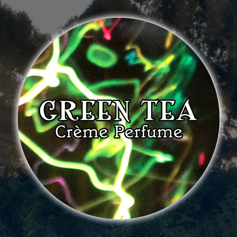 Green Tea 15mL Glass Jar