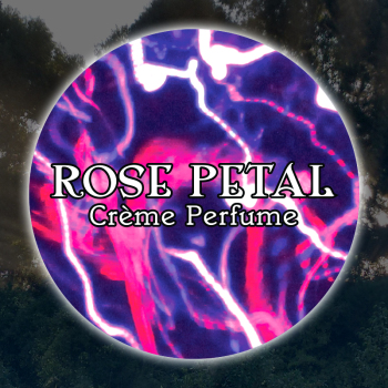 Rose Petal 15mL Glass Jar