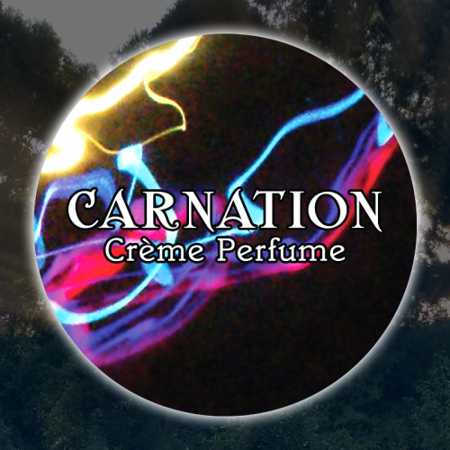Carnation 15mL Glass Jar
