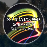 Sandalwood & Honey 15mL Glass Jar