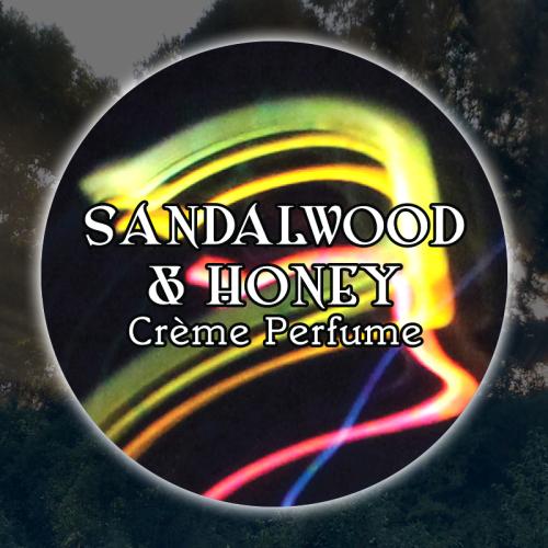 Sandalwood & Honey 15mL Glass Jar