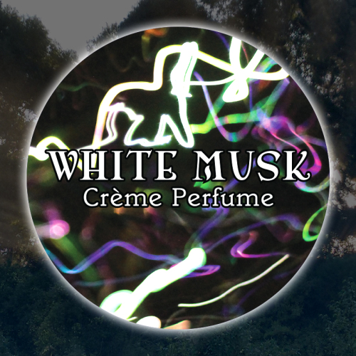 White Musk 15mL Glass Jar