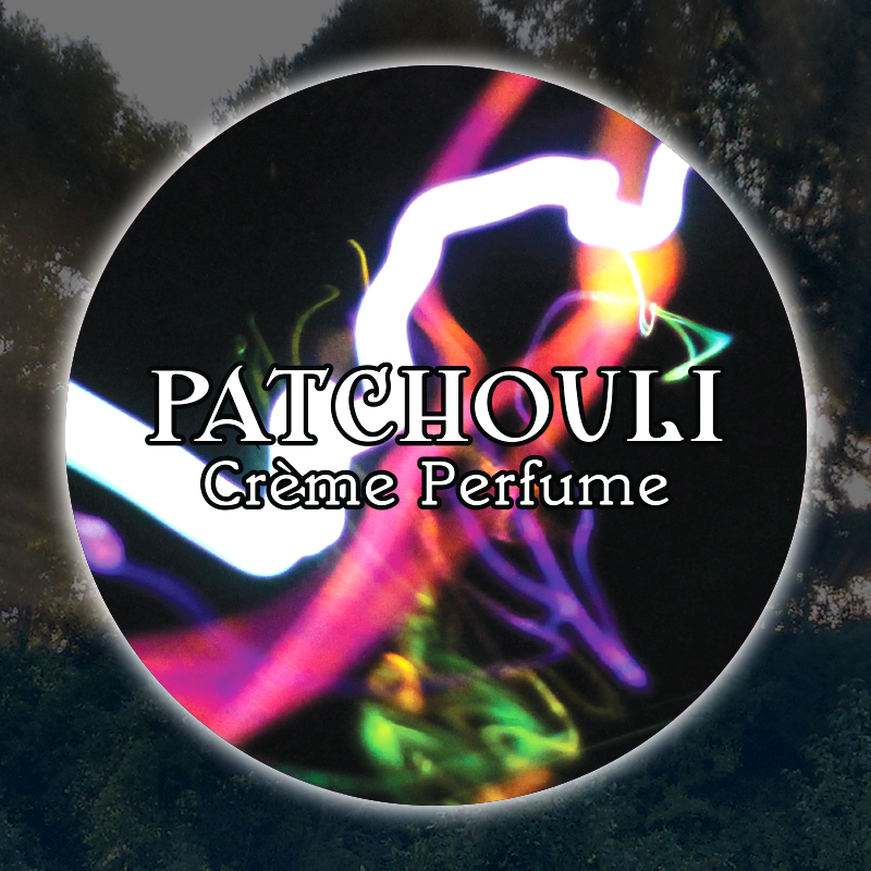 Patchouli 15mL Glass Jar