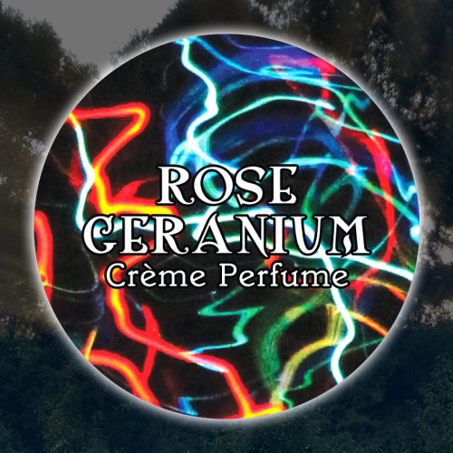 Rose Geranium 15mL Glass Jar