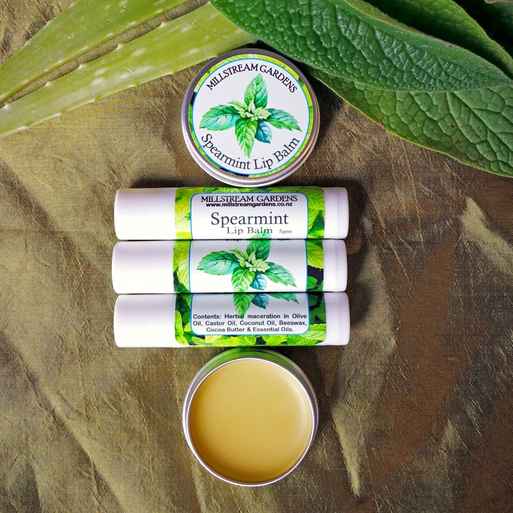 Lip Balm: Spearmint