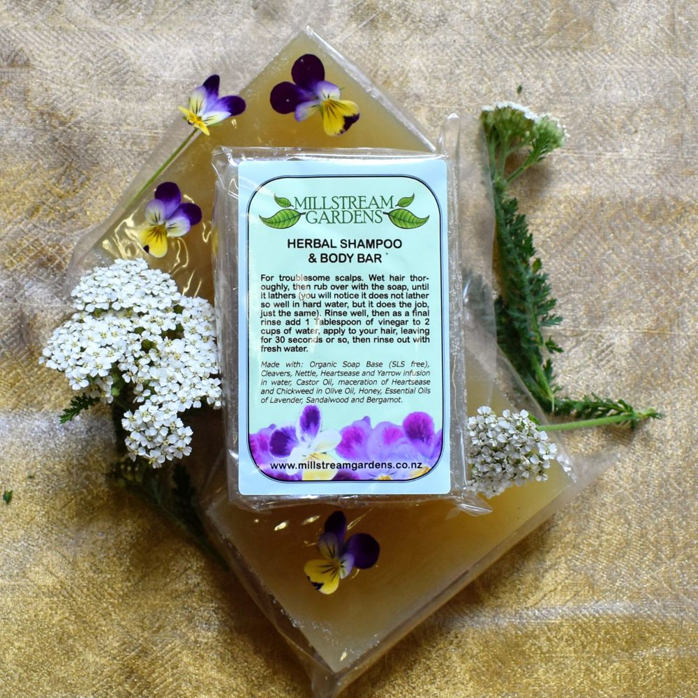 Shampoo and Body Bar: Herbal Blend