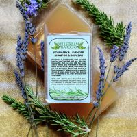 Shampoo and Body Bar: Rosemary & Lavender