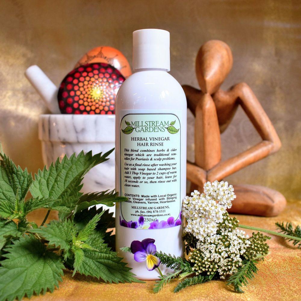 Vinegar Hair Rinse: Herbal - 250mL Bottle