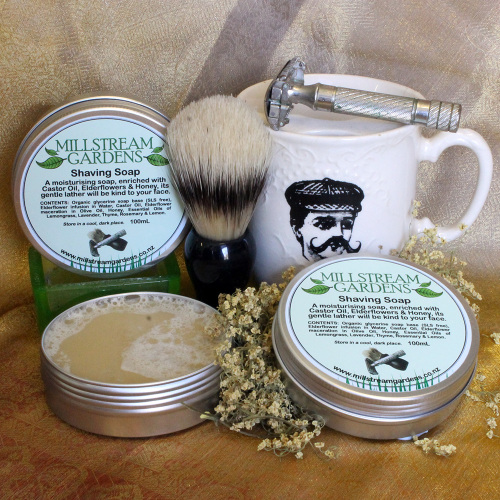 Shaving Soap - 100mL Tin