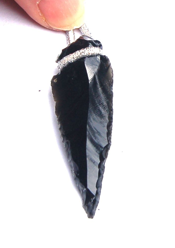 Large Aquamarine Crystal Chakra Healing Love Angel Wing Pendant Box /& Chain