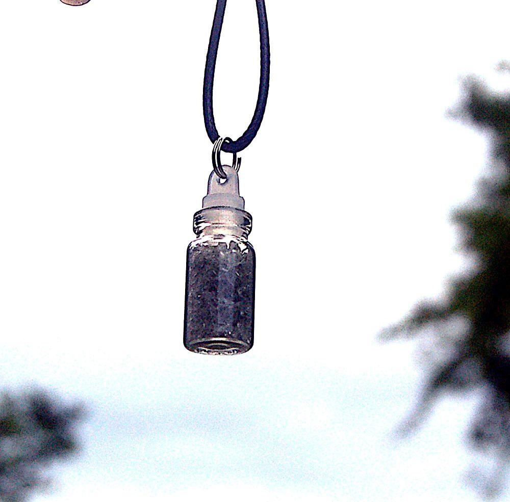 Wholesale 5 Authentic Moldavite Crystal Dust Bottle Star Born Creation with