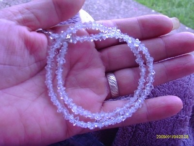 30 Herkimer Diamond Drilled 4 to 5mm Beads