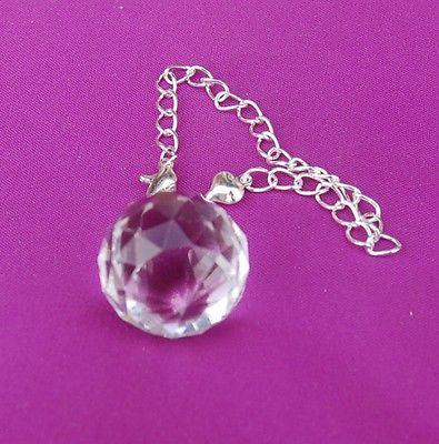 Pretty Suncatcher Facetted Crystal Pendulum