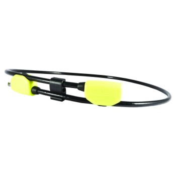 Hiplok POP Wearable Cable Lock 10mm x 1.3M - waist 24-42 inches Lime