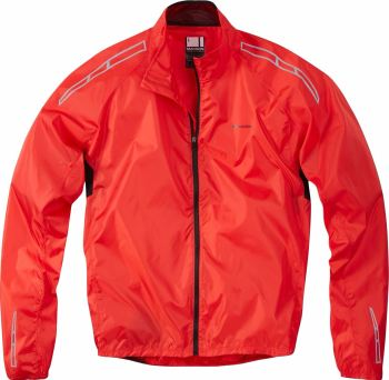 Madison Pac-it Mens Showerproof Jacket Flame Red