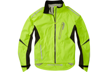 Madison Stellar Mens Waterproof Jacket Hi-viz Yellow