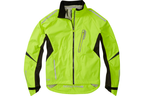 Madison Stellar Waterproof Jacket Hi-viz Yellow