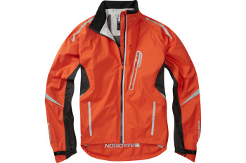 Madison Stellar Mens Waterproof Jacket Chilli Red