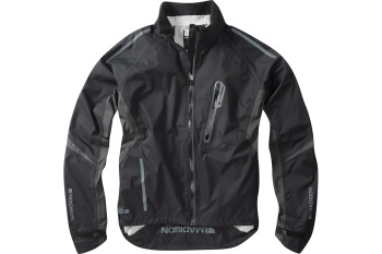 Madison Stellar Mens Waterproof Jacket Black