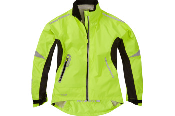 Madison Stellar Womens Waterproof Jacket Hi-viz Yellow