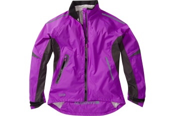 Madison Stellar Womens Waterproof Jacket Purple Cactus