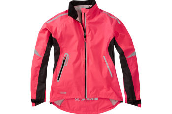 Madison Stellar Womens Waterproof Jacket Diva Pink