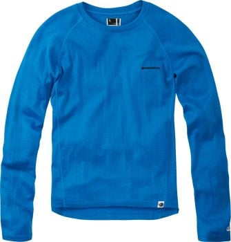 Madison Isoler Merino Long Sleeve Baselayer Royal Blue