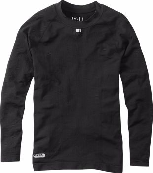 Madison Isoler Mesh Long Sleeve Baselayer Black