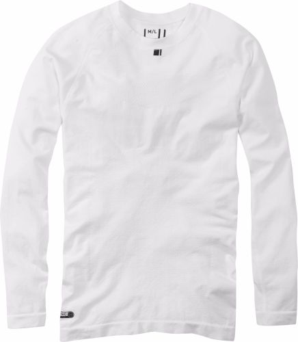 Madison Isoler Mesh Long Sleeve Baselayer White