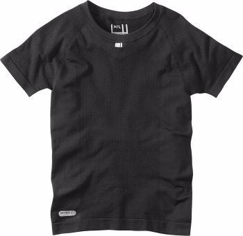 Madison Isoler Mesh Short Sleeve Baselayer Black