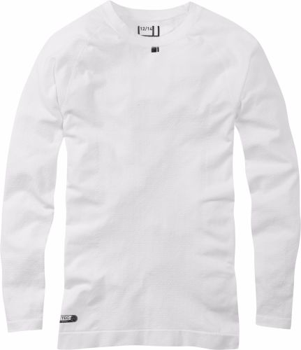 Madison Isoler Mesh Womens Long Sleeve Baselayer White
