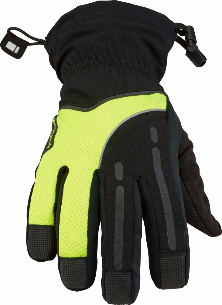 Madison Stellar Mens Waterproof Gloves Hi Viz Yellow