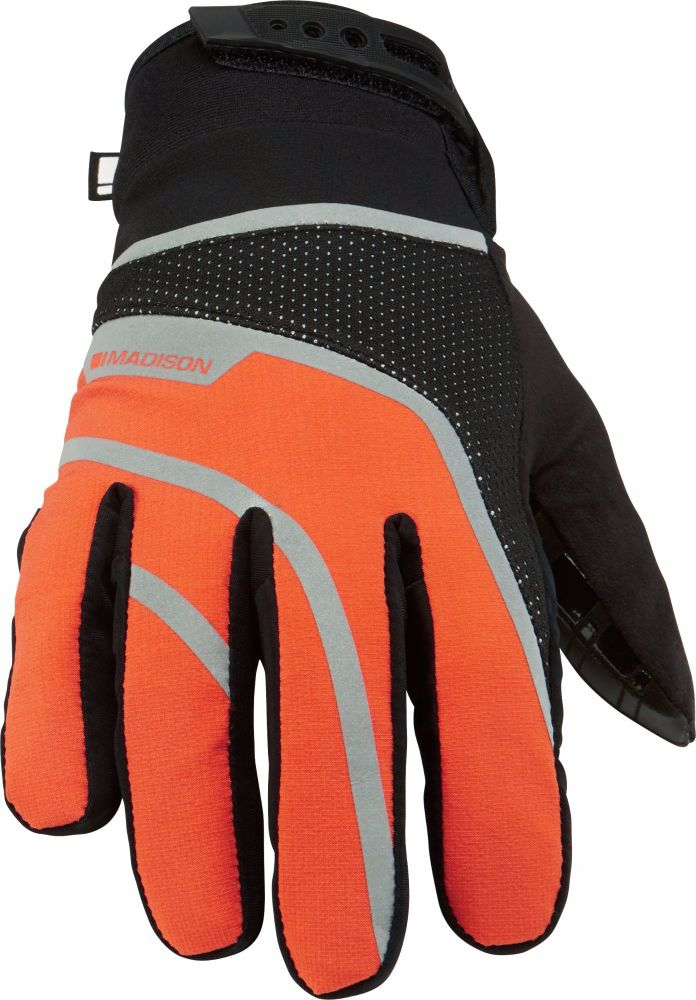 Madison Avalanche Mens Waterproof Gloves Orange