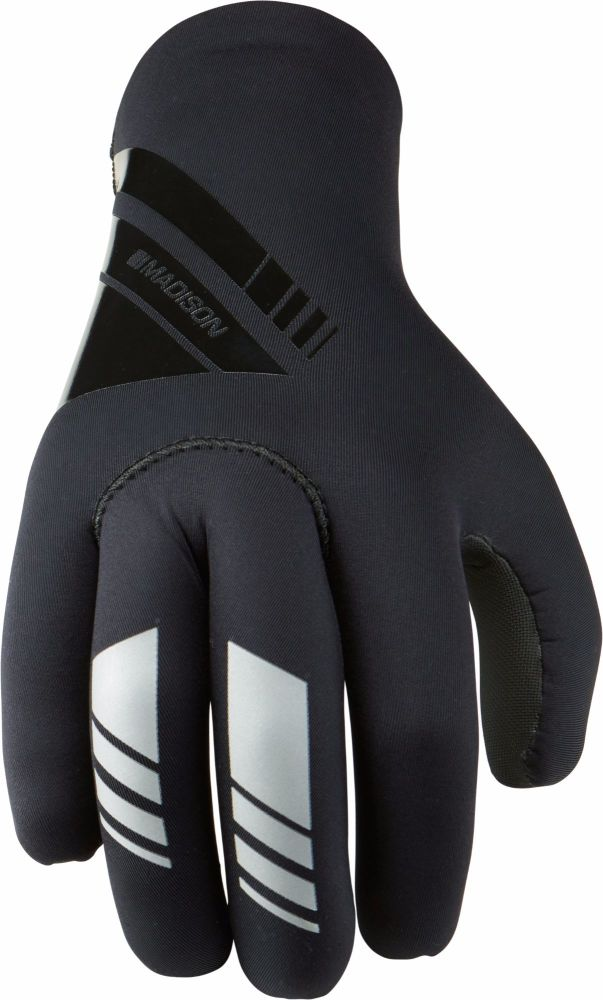 Madison Shield Mens Neoprene Gloves Black