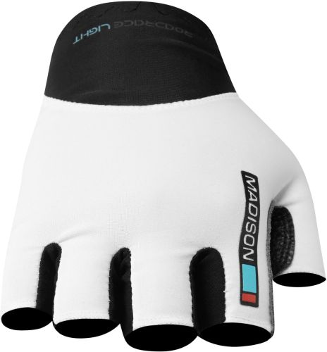 Madison Road Race Mens Mitts White