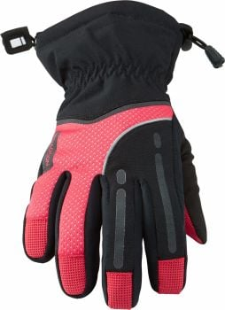 Madison Stellar Womens Waterproof Gloves Black / Diva Pink