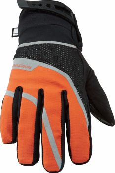 Madison Avalanche Womens Waterproof Gloves Black / Shocking Orange