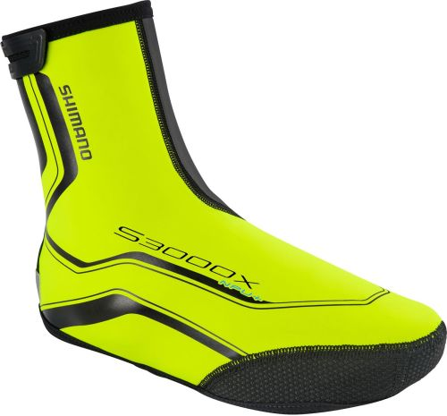 Shimano S3000X 3mm Neoprene Overshoe with BCF and PU Coating Yellow