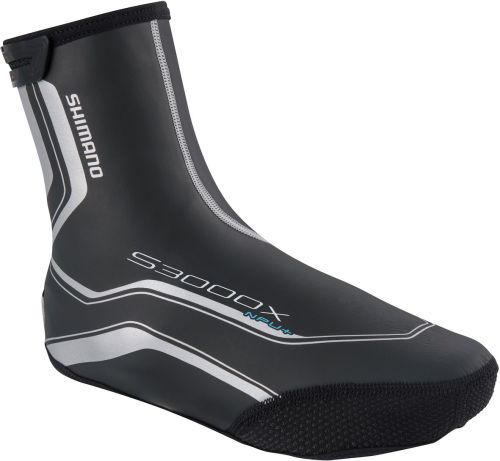 Shimano S3000X 3mm Neoprene Overshoe with BCF and PU Coating Black
