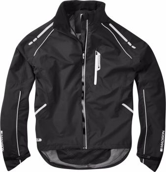 Madison Prime Mens Waterproof Jacket Black