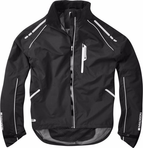 Madison Prime Waterproof Jacket Black